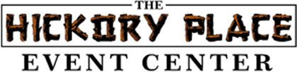The Hickory Plae Event Center Logo